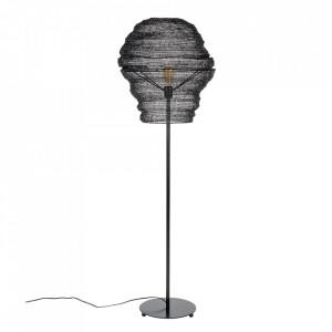 Lampadar negru din fier 154 cm Lena White Label