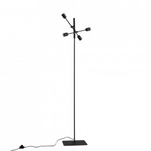 Lampadar negru din metal cu 4 becuri 160 cm Twigo Custom Form