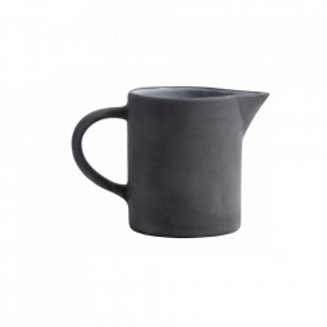 Latiera neagra/alba din ceramica 8x9 cm Henrietta Nordal