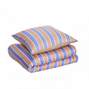 Lenjerie de pat multicolora din bumbac 140x220/60x63 cm Stan Hubsch