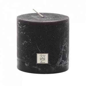 Lumanare neagra din parafina 10 cm Rustic Riviera Maison