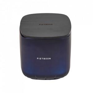 Lumanare parfumata cu suport albastru din sticla 13 cm 6PM Serax