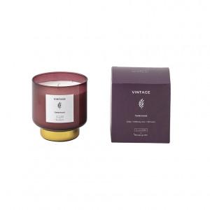 Lumanare parfumata din sticla 9 cm Vintage Cedarwood Illume x Bloomingville