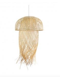 Lustra crem din bambus Jellyfish Big Versmissen