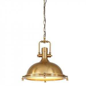 Lustra maro bronz din metal si sticla Alta Steinhauer