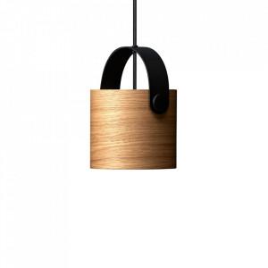 Lustra maro din lemn si metal OOTW Small Frandsen Lighting