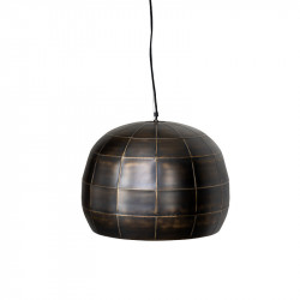 Lustra neagra/aurie din aluminiu Hana L LifeStyle Home Collection