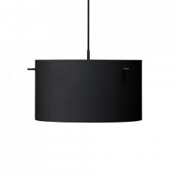 Lustra neagra din metal FM1954 Large Frandsen Lighting