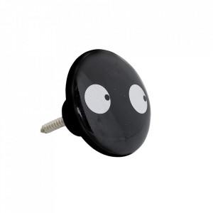 Maner negru din ceramica Bruno Bloomingville Mini
