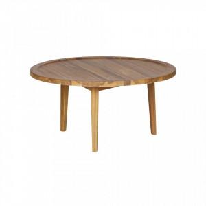 Masa cafea din lemn de salcam 80 cm Sprok Woood