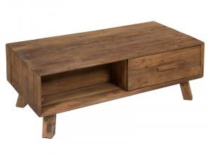 Masa cafea din lemn reciclat 120x60 cm Bunta Santiago Pons