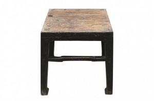 Masa cafea neagra din lemn 41x42cm Shanxi Versmissen