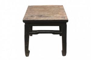 Masa cafea neagra din lemn 45x41cm Shanxi Versmissen