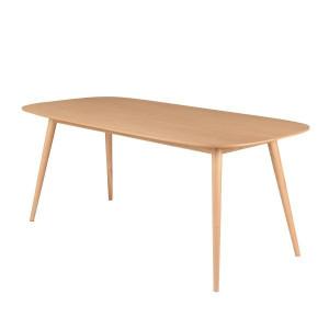 Masa dining din lemn 180x90 cm Calypso Zago