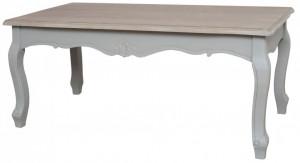 Masa dining din lemn de plop si MDF 60x120 cm Catania Livin Hill