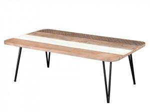 Masa dining din lemn de salcam si MDF 70x120 cm Adesso Bench Livin Hill