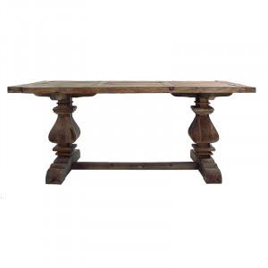 Masa dining maro din lemn 100x200 cm Abo Vical Home
