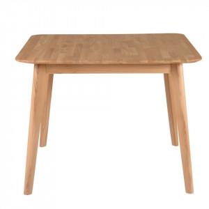 Masa extensibila din lemn de stejar 100(145)x100 cm Percy Zago