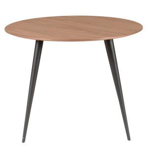 Masa rotunda din lemn si metal 100 cm Calypso Zago