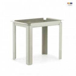 Masuta gri din otel 33x60 cm Box Table Normann Copenhagen
