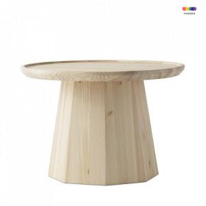 Masuta maro din lemn de pin 65 cm Pine Normann Copenhagen