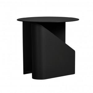 Masuta neagra din metal 40 cm Sentrum Woud