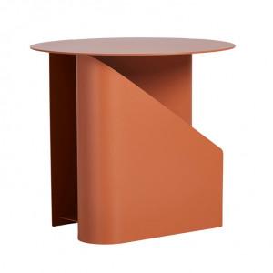 Masuta portocalie din metal 40 cm Sentrum Woud