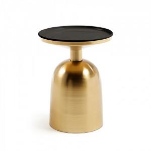 Masuta rotunda din metal 37 cm Physic Kave Home