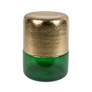 Masuta verde/aurie din fier 35 cm Amber Dutchbone