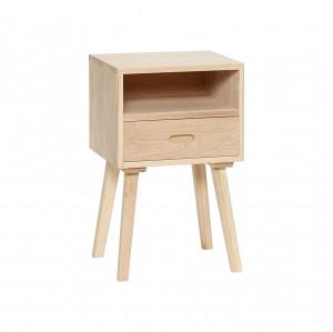Noptiera cu sertar lemn stejar Oak Hubsch
