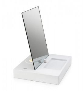 Oglinda cu lampa si baza metalica 30x36 cm USB Reflect Markslojd