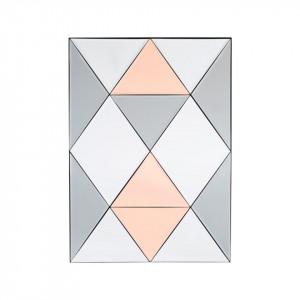 Oglinda dreptunghiulara cu rama din MDF 50x70 cm House Doctor
