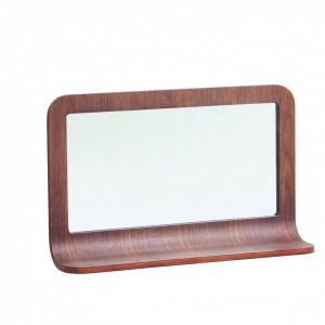 Oglinda dreptunghiulara maro din MDF 46x72 cm Chill Zago
