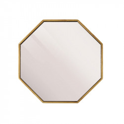 Oglinda hexagonala din MDF 50x50 cm Leva Lifestyle Home Collection