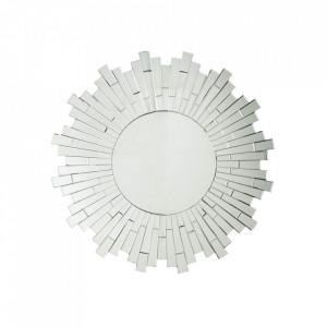 Oglinda rotunda din sticla 90 cm Mosaic Invicta Interior