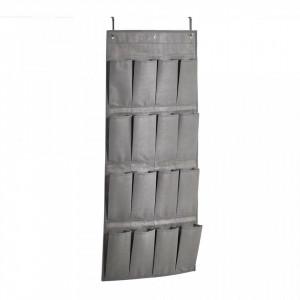 Organizator gri din fleece pentru usa Hanging Storage Zeller