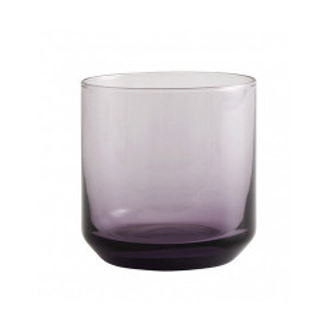 Pahar mov din sticla 8x8 cm Retro Nordal