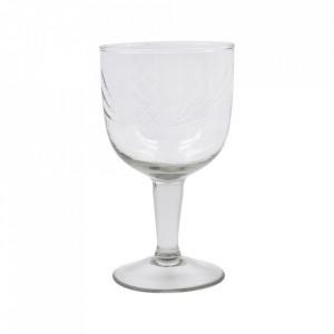 Pahar pentru gin transparent din sticla 10x18 cm Crys House Doctor