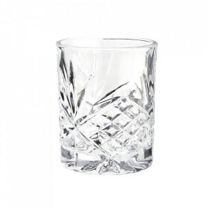 Pahar transparent din sticla 8x10 cm Vivienne Madam Stoltz