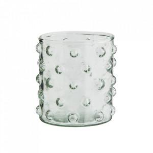 Pahar transparent din sticla 8x9 cm Lise Madam Stoltz