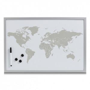 Panou memo gri din metal 40x60 cm Moore World Zeller