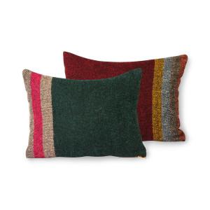 Perna decorativa dreptunghiulara multicolora din fibre acrilice 30x40 cm Doris HK Living