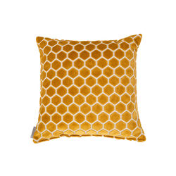 Perna decorativa galbena 45x45 cm Monty Honey Zuiver
