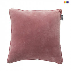 Perna decorativa patrata din bumbac 50x50 cm Faye Ash Rose LifeStyle Home Collection