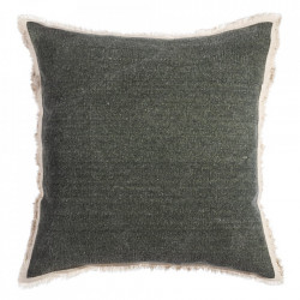 Perna decorativa patrata gri din bumbac 60x60 cm Penryn Ixia