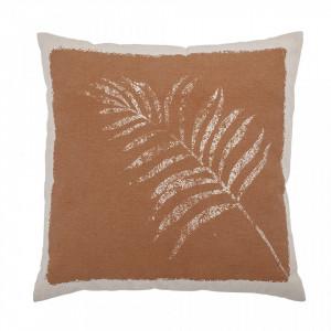 Perna decorativa patrata maro din bumbac 45x45 cm Xai Bloomingville