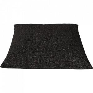 Perna decorativa patrata maro din textil 50x50 cm Classic Axus Bolia