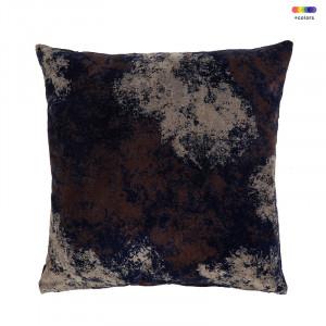 Perna decorativa patrata multicolora din bumbac 50x50 cm Evina Obsidian LifeStyle Home Collection