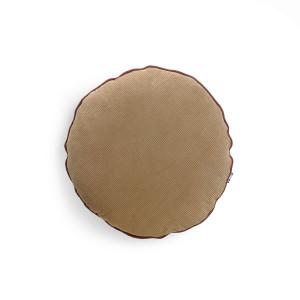 Perna decorativa rotunda maro din catifea 40 cm Corduroy HK Living