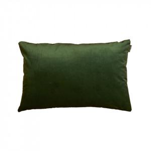 Perna decorativa verde din catifea si poliester 40x60 cm Trina Green Pols Potten